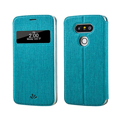 LG G5 case ,Feitenn Premium Leather PU