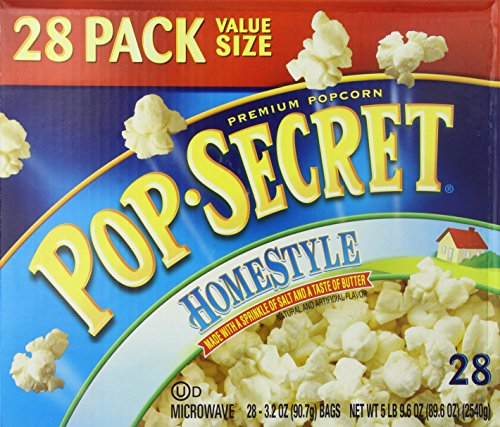 Pop Secret Popcorn, Homestyle, 28 Count Box]()