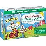 Annies Homegrown Bernies Farm Animal Cookies, 1 Ounce - 6 per pack -- 6 packs per case. by Annie's Homegrown