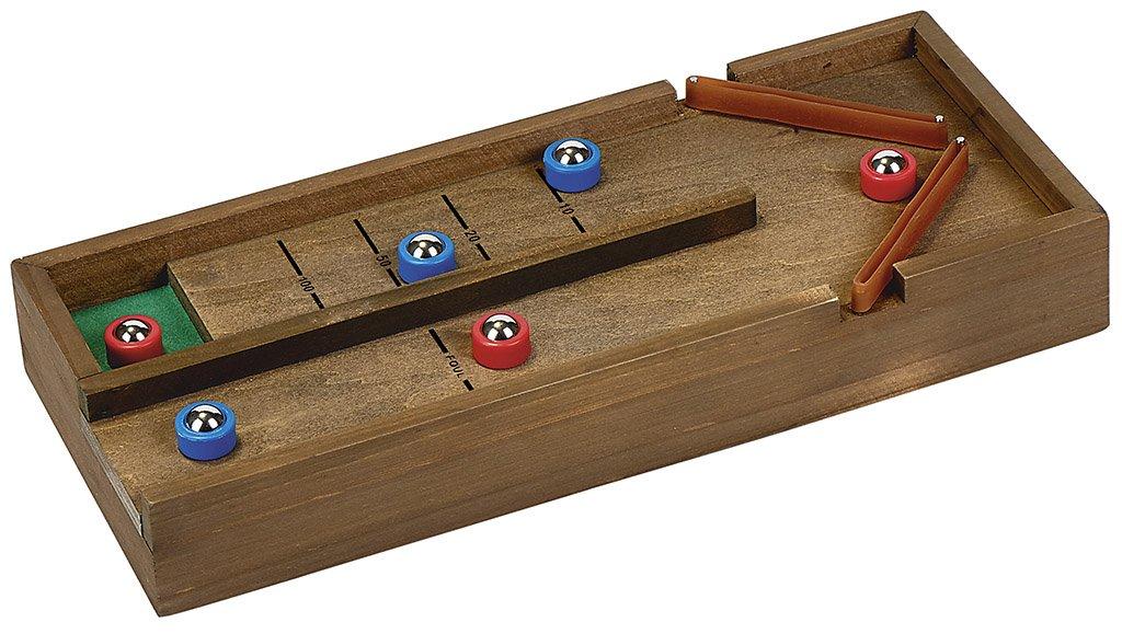 Wooden Game Rebound Shuffleboard | Tisch-Curling | aus Holz moses. Verlag GmbH 92089