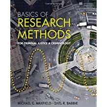 Amazon earl r babbie methodology social sciences books basics of research methods for criminal justice and criminology fandeluxe Choice Image