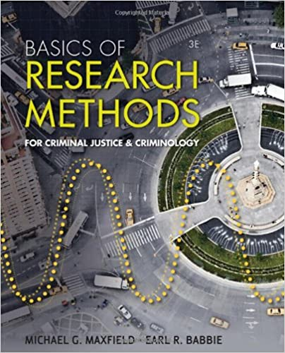 Basics Of Research Methods For Criminal Justice And Criminology 3rd Edition