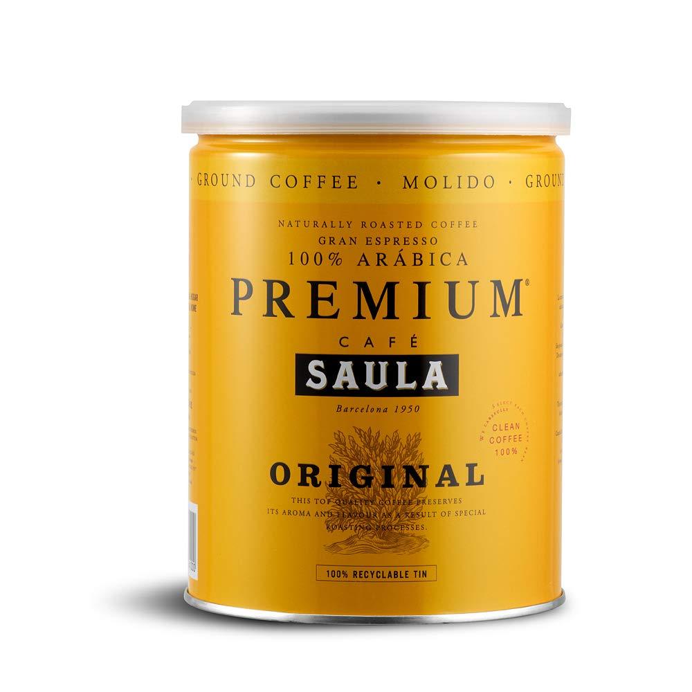 Café Saula, Pack 3 botes de 250 gr. Premium Original 100% arabica ...