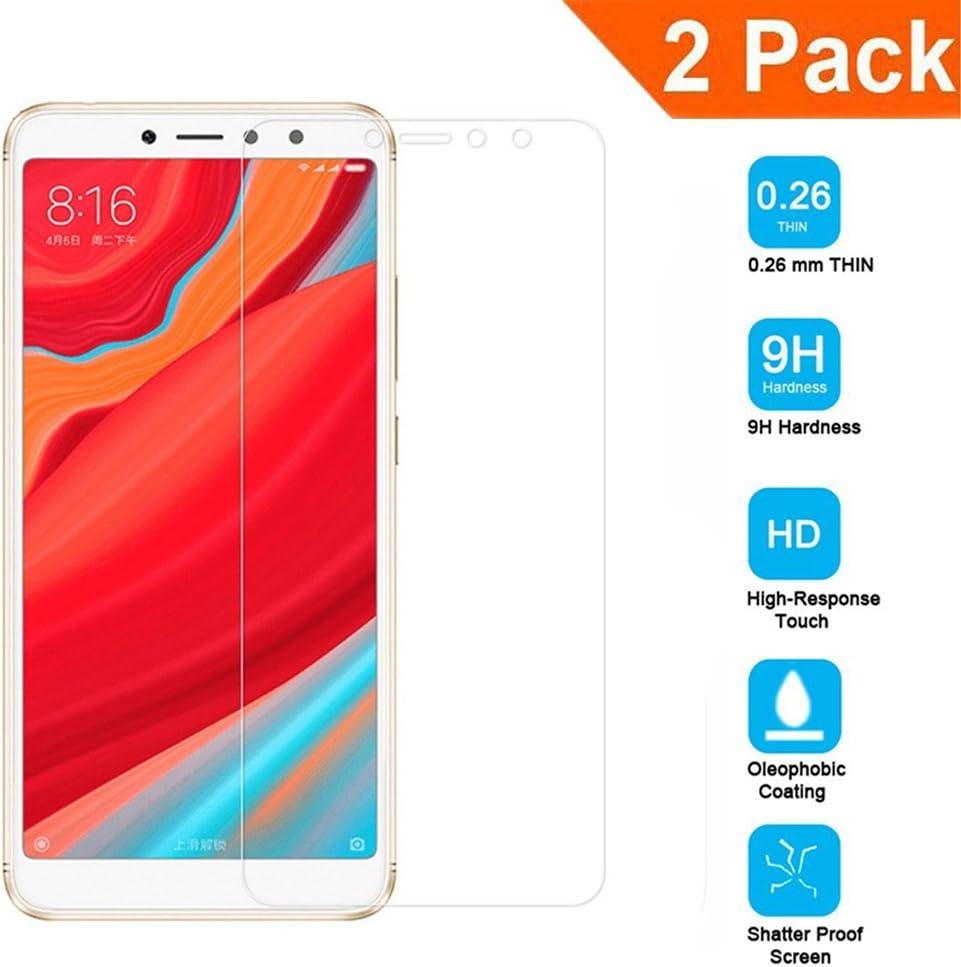2-Unidades] Pantalla Protector para Xiaomi Redmi S2, Vidrio ...