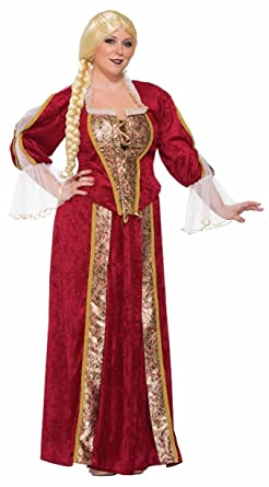 86835f47336 Amazon.com  Forum Women s Plus Size Renaissance Queen Costume