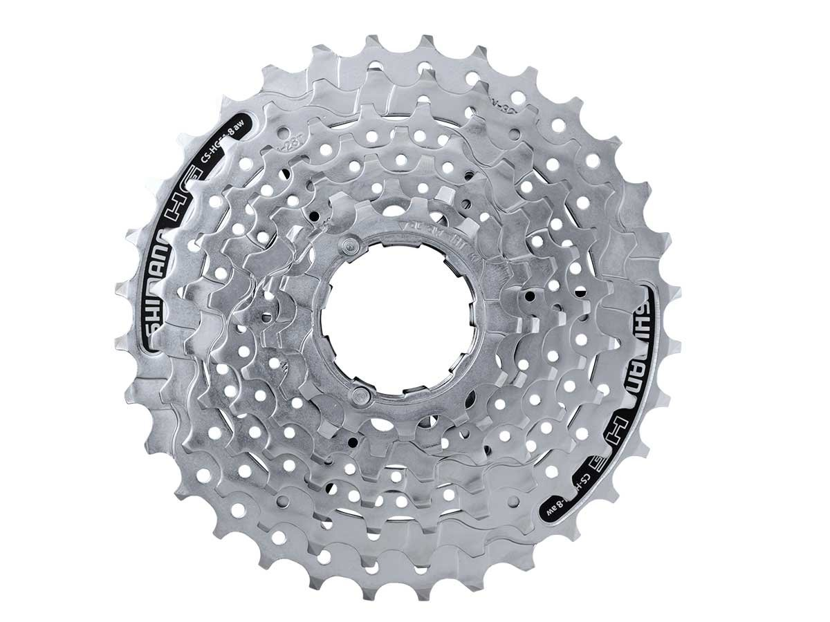 Shimano HG51 8-Speed Cassette (11-30T) by SHIMANO