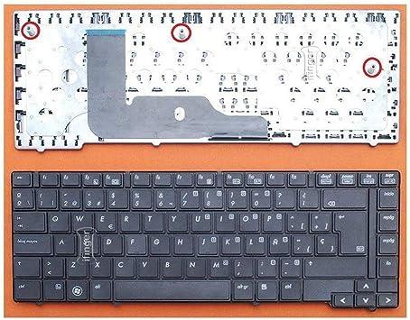 IFINGER Teclado español para HP Compaq EliteBook 8440P ...