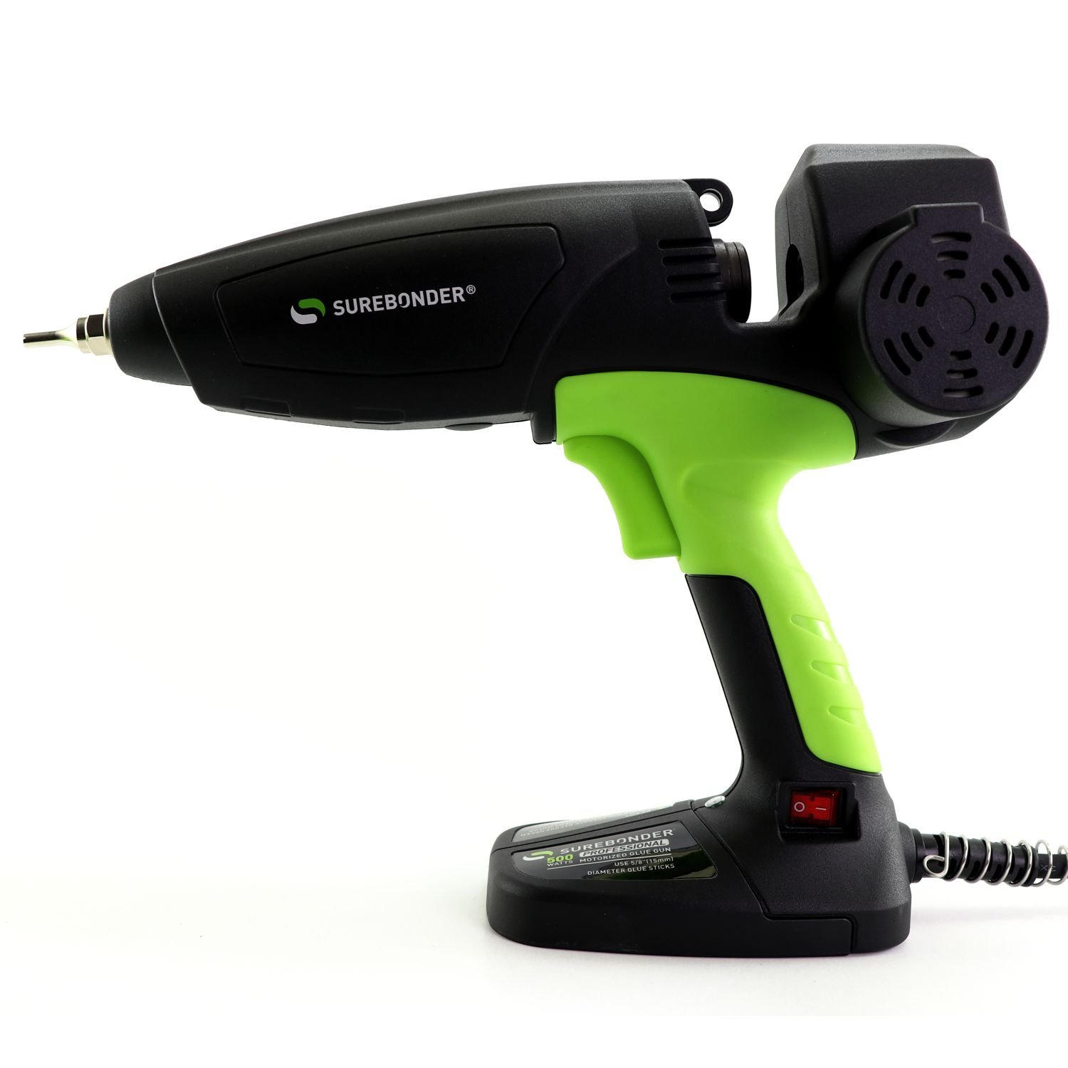 Surebonder MGG-500 500 Watt Motorized Professional Heavy Duty Hot Glue Gun - Uses oversized, 5/8'' glue sticks by Surebonder