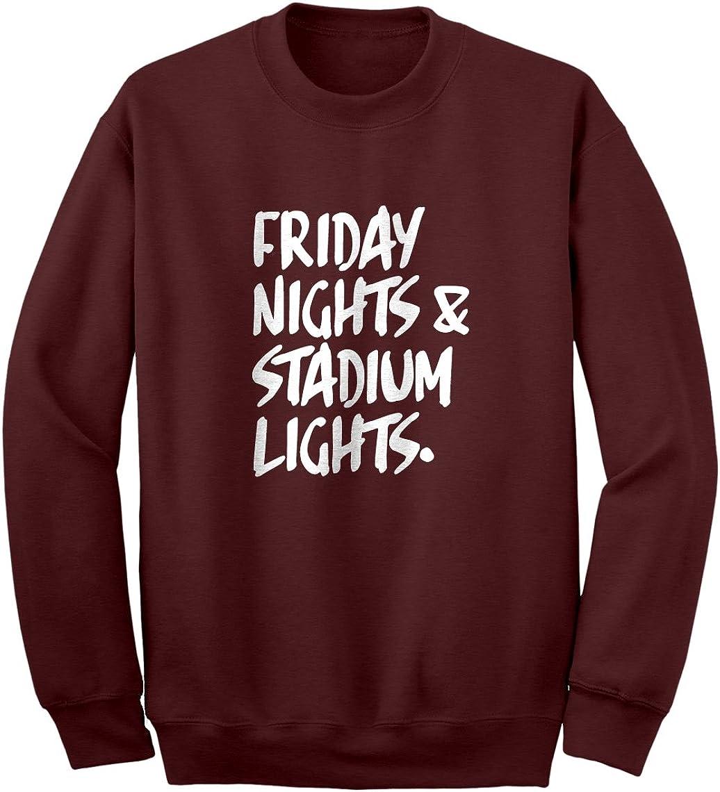 Indica Plateau Friday Nights Stadium Lights Unisex Adult Sweatshirt