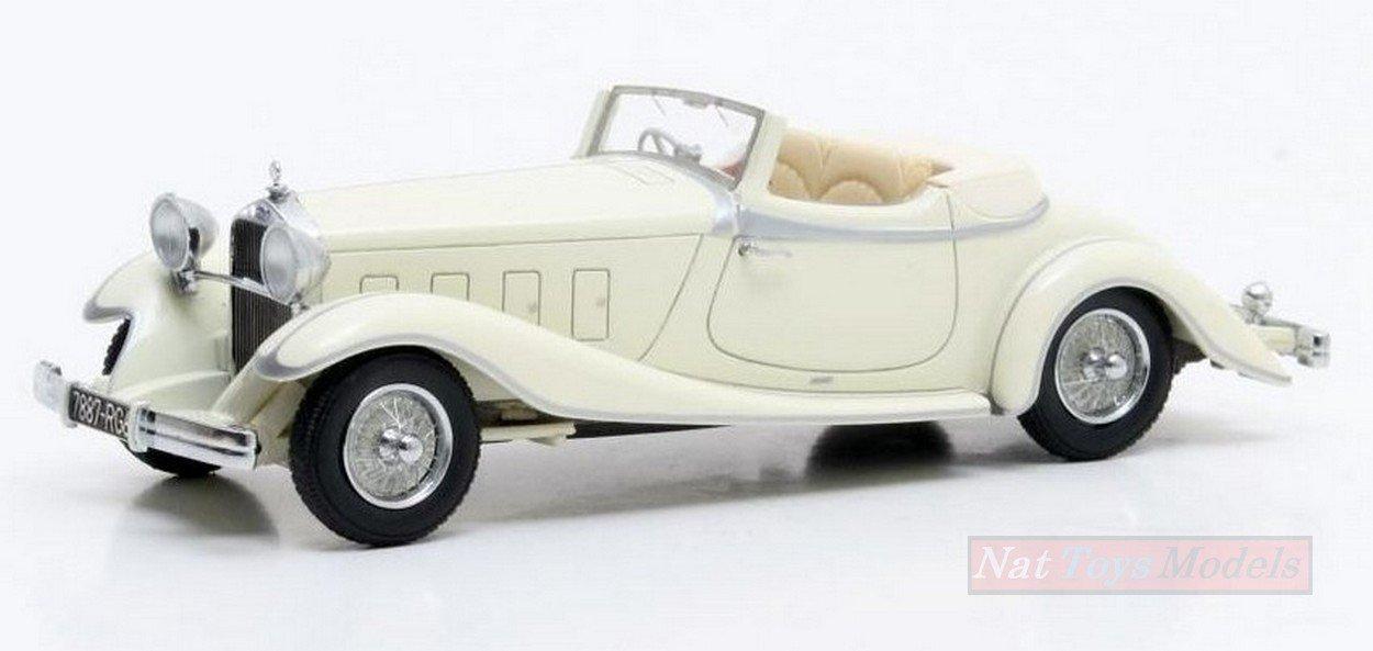 MATRIX MX50407-031 DELAGE D8S DE VILLARS ROADSTER CLOSED 1933 1 43 DIE CAST