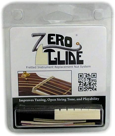 Zero Glide Slotted ZS-3 Acoustic Guitar Nut System