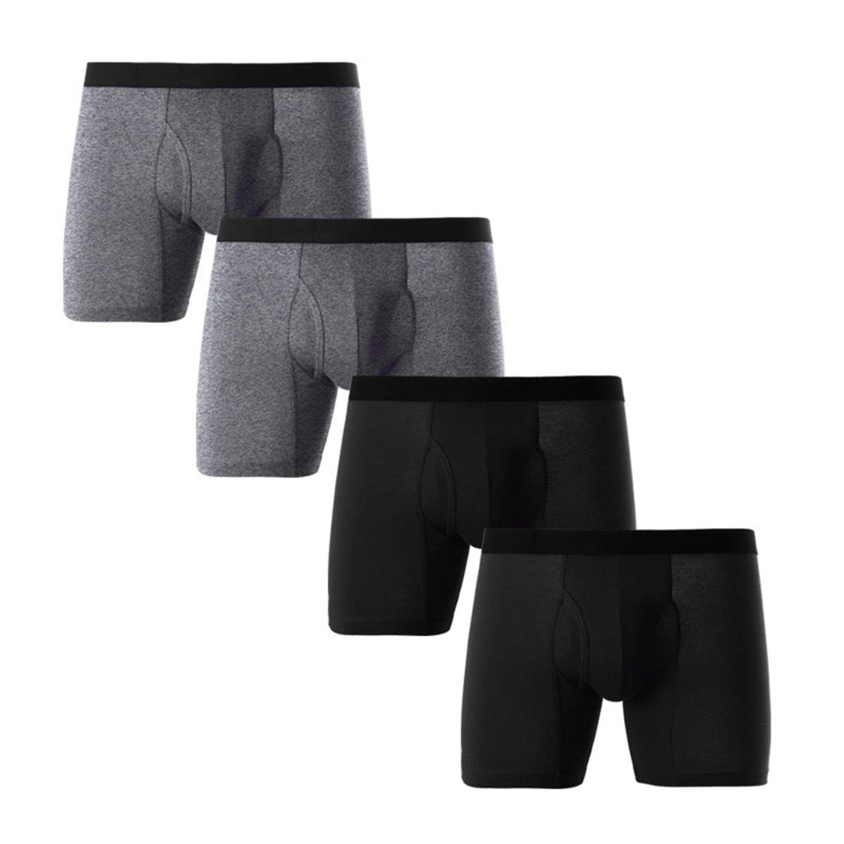 Donci Pants Men's Regular Leg Boxer Brief Multipack by Donci Pants