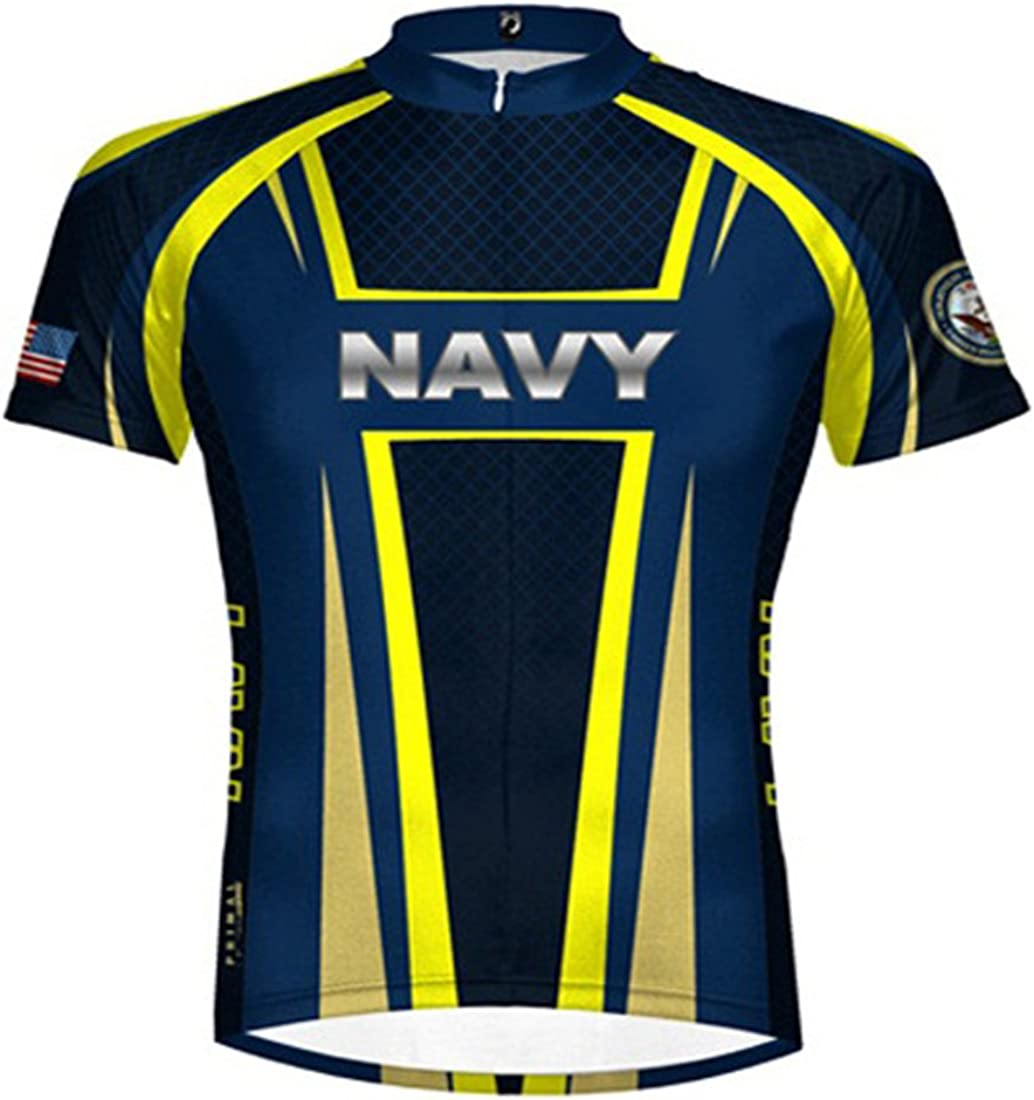 Primal Wear Team Air Force Cycling jersey Men/'s Short Sleeve New with Socks