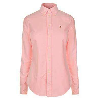 Polo Ralph Lauren Womens Harper Long Sleeve Shirt HG14  Amazon.co.uk ... 7098703b0dc7