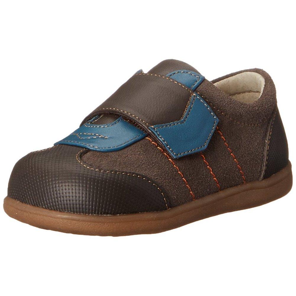 See Kai Run Kanoa Sneaker (Infant/Toddler/Big Kid), Brown, 6 M US Toddler