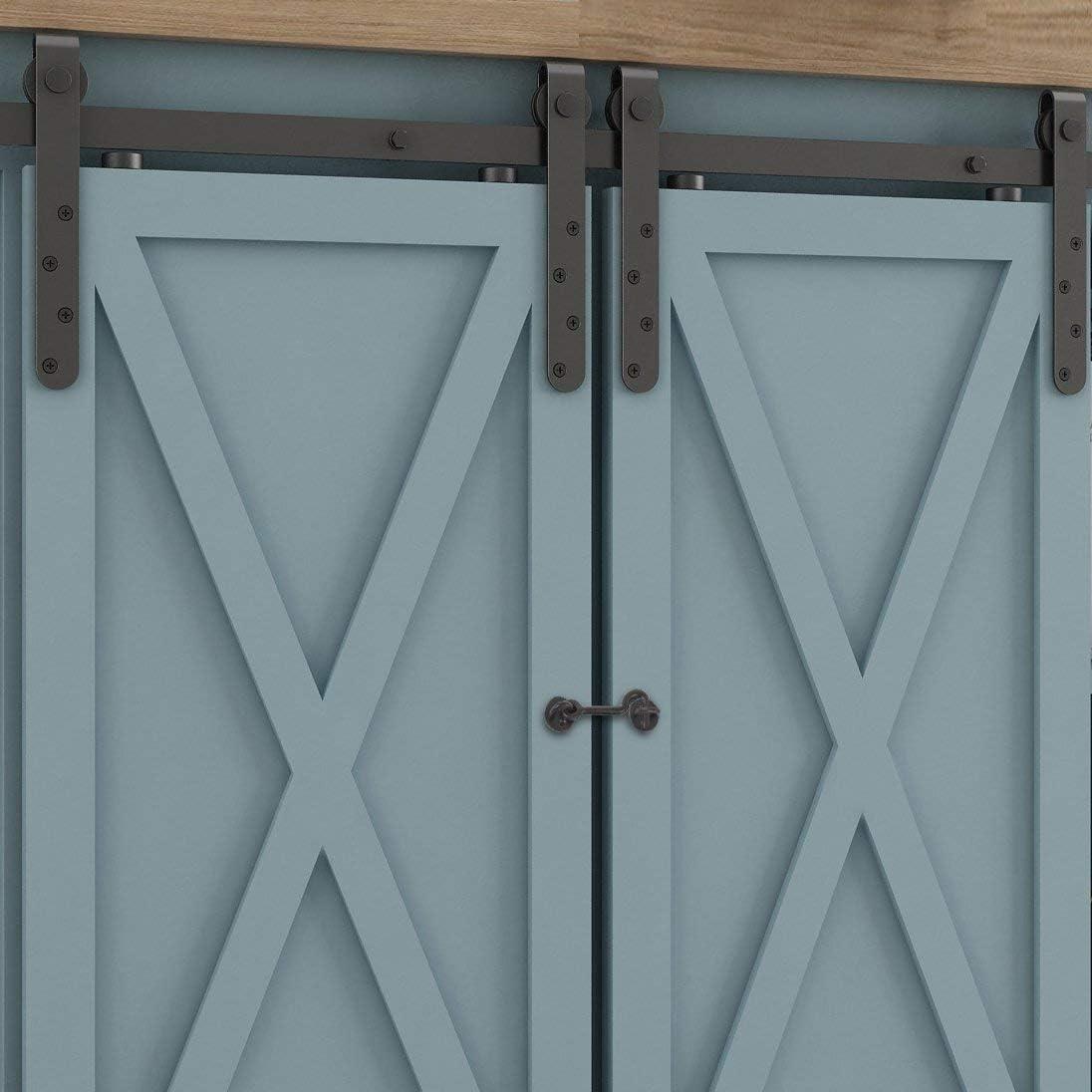 Pestillo para puerta de barno, La Vane rústico vintage de acero inoxidable con gancho y cierre de ojo para puerta corredera garaje cobertizo: Amazon.es: Bricolaje y herramientas