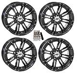 kawasaki teryx tires - STI HD3 ATV Wheels/Rims Black 14