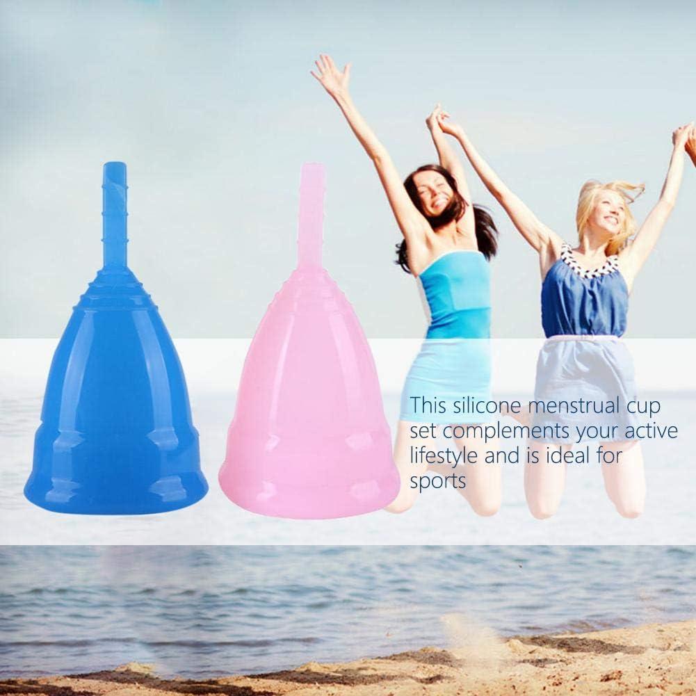 Gorgebuy - Copas menstruales Reutilizables y Juego de Vasos ...