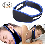Snore Reduction Chin Strips, Stop Snoring, Anti Snoring Solution, Adjustable Snore Relief Chin Strap,Pack of 2 Anti Snore Chin Strap
