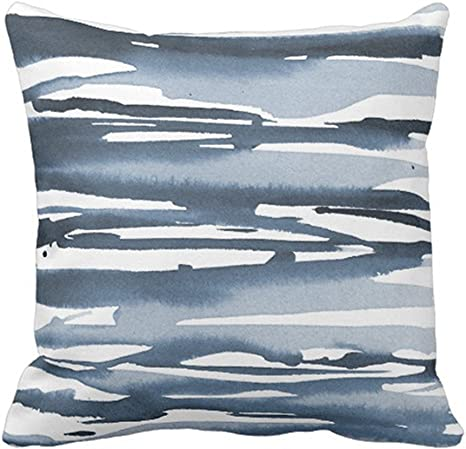 SPXUBZ Light Color Abstract Watercolor Pillow Cover Decorative Home Decor Nice Gift Square Indoor//Outdoor Pillowcase Size 16x16 Inch Two Sides