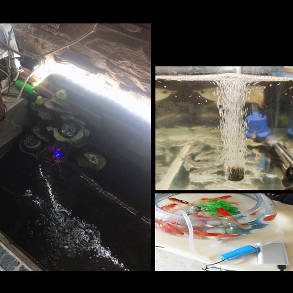 Xzbnwuviei USB Aqua Mini Silent Aeration Pump,Portable Mini USB Aquarium Fish Tank Oxygen Air Pump Mute Energy Save Compressor Aquatic Terrarium Accessories
