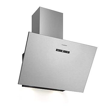 KLARSTEIN Silver Lining 60 Cappa Aspirante - Cappa a Parete, Senza Camino,  60 cm, Classe Energetica: A, Ricircolo o Scarico, 600 m³/h, 3 Livelli di ...