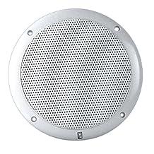 Poly-Planar 6-Inch Round Marine Speaker (White)