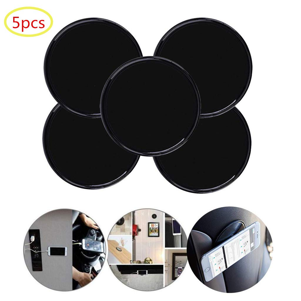 sticky gel pads multi function removable anti slip gel pad magic gel mat  stick on car dashboard glass mirrors metal tile walls kitchen stand recipe  holder