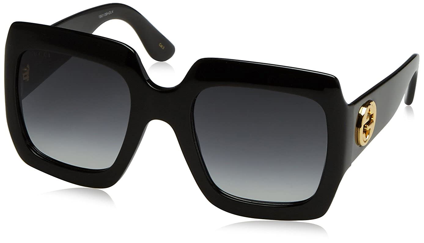 ae41dd2be9 Amazon.com  Gucci Womens 54MM Oversized Square Sunglasses