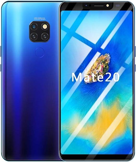 Teléfono celular desbloqueado, Bovake 6.1 pulgadas Android 8.1 IPS pantalla completa 1G+16G Dual HD cámara Smartphone WiFi Bluetooth GPS 4G llamada teléfono móvil edición internacional, Blue (Buy One Save 8%) : Amazon.es: Jardín