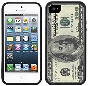 100 Dollar Bill American USA Currency Handmade iPhone 5 5S Black Case