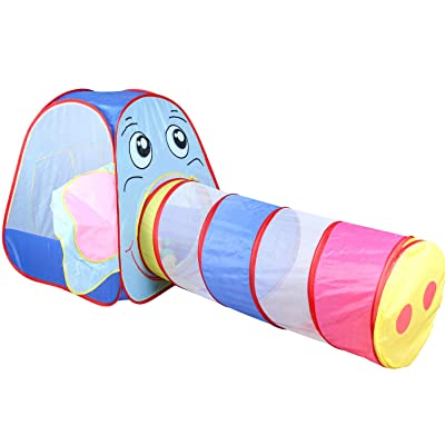RT Elephant Kids Play Boy Girls Playhous Tunnel Indoor Outdoor Tent: Garden & Outdoor