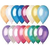 Sachet Ballon Nacré Multicolore x50 - Taille Unique