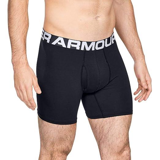 1f406333b318 Amazon.com: Under Armour Men's Charged Cotton 6-inch Boxerjock 3 ...