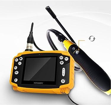 9mm INSPECTION CAMERA Video Borescope Endoscope Conduit Snake Scope New 4 LEDs
