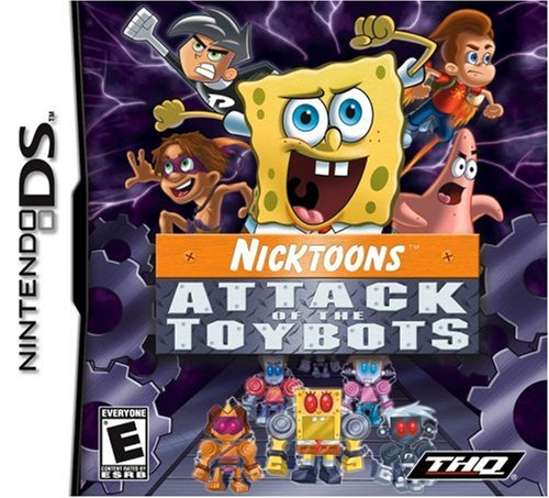 Nicktoons Attack Of The Toybots - Nintendo - Outlet Mall Bass