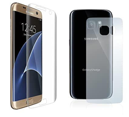 huge selection of e62ae ef430 Granadatech@ Silicone screen Protector for Samsung Galaxy S7 Front ...