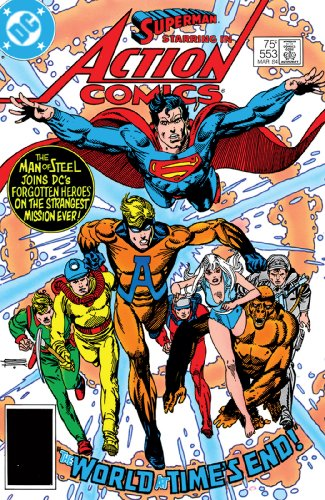 Action Comics (1938-2011) #553 (553 Series)