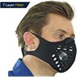 Enviro-Vent - 2.0v, Anti-Pollution Face Mask or Replacement N99 Filters, 2-Way vents, Activated Carbon Filtration, Exhaust Fumes, Anti Pollen & Allergy, Urban Pollution, Cycling, Running, Walking