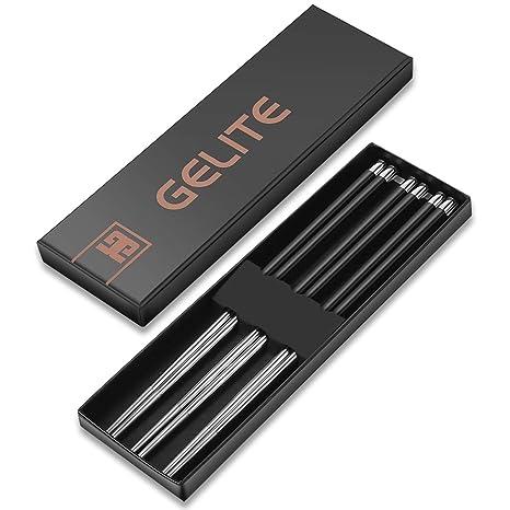Amazon.com: Gelite juego de palillos de fibra de vidrio ...