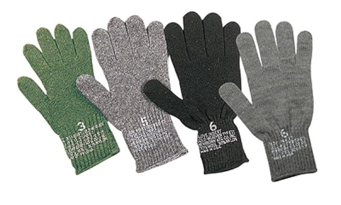 Amazon.com  GI Wool Glove Liners - OD (3 6d1afa9627c