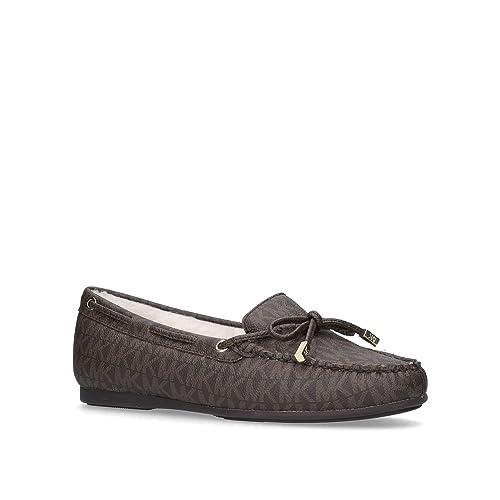 Michael Kors - Mocasines de Otra Piel para Hombre, Color Marrón, Talla 38 EU: Amazon.es: Zapatos y complementos