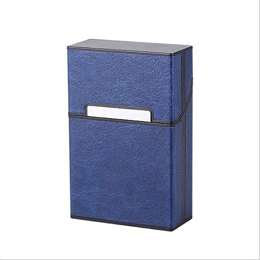 SailorMJY Caja Cigarrillo, Pitillera Cigarrillos diseño de Tipo táctil con Tapa abatible Compacto y fácil de Poner en el Bolsillo (con Capacidad para 20): Amazon.es: Hogar
