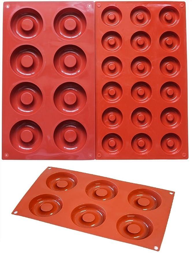 Moldes de silicona antiadherente para horno de castaño 6/8/18 ...