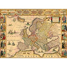MAP BLAEU 1664 EUROPE OLD HISTORIC LARGE REPLICA POSTER PRINT PAM0564