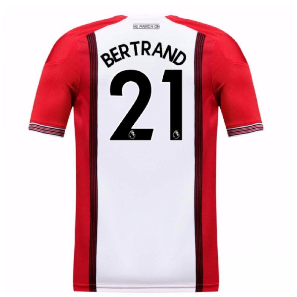 2017-18 Southampton Home Football Soccer T-Shirt Trikot (Ryan Bertrand 21) - Kids