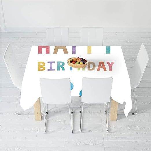 Mantel Personalizado, decoración para el 26 cumpleaños, para ...