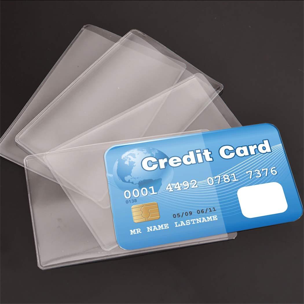 JUSTDOLIFE 100PCS Carta Protettore Manica Carta Manica Matte Chiaro Carta Titolare