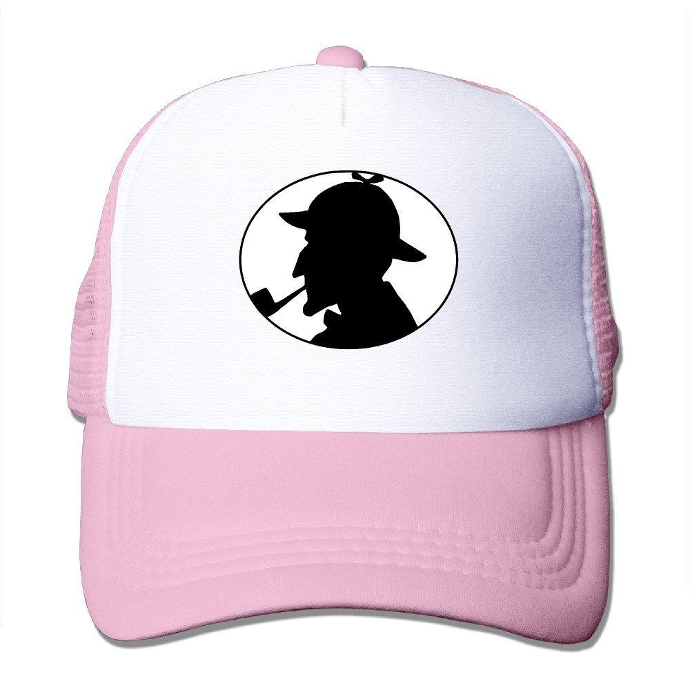 MZONE Unisex-Adult Two-toned Cap Hats Famous Detective Sun Cap Hats Black