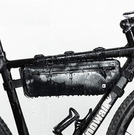 ZOMEBER Impermeable Bolsa Cuadro De La Bicicleta, Almacenamiento ...